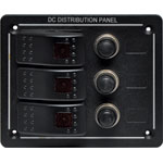 S2750 3 Way Switch Panel With Breakers