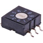S3004 5 Pin BCD SMD Rotary Switch