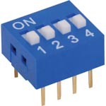 S3050 4 Way DIP Switch