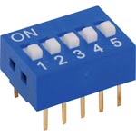 S3052 5 Way DIP Switch