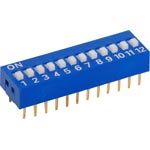 S3068 12 Way DIP Switch