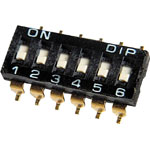 S3086 6 Way SMD DIP Switch