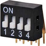 S3094 4 Way 90 Degree DIP Switch