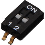S3102 2 Way Half Pitch SMD DIP Switch