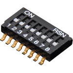 S3108 8 Way Half Pitch SMD DIP Switch