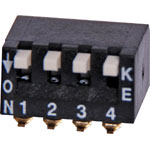 S3114 4 Way Tiny Piano SMD DIP Switch