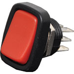 S3180 DPDT Red Rocker Switch