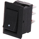 S3201 SPDT Ultra-Mini Rocker Switch