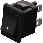 S3212 DPST Mini Rocker Switch