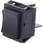 S3243 DPDT Heavy Duty Centre-Off Spring Return Rocker Switch