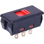 S3500 Mains Voltage Selector Solder Tail Slide Switch