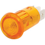 S4019A Amber 230V AC Panel Mount Neon