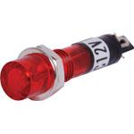 S4025 Red 12V DC Panel Lamp