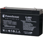S4501 6V 12Ah Sealed Lead Acid (SLA) Battery