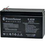 S4538 12V 7Ah Sealed Lead Acid (SLA) Battery 4.8mm/F1