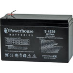 S4539 12V 7Ah Sealed Lead Acid (SLA) Battery 6.3mm/F2