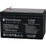 S4548 12V 12Ah Sealed Lead Acid (SLA) Battery 6.3mm/F2