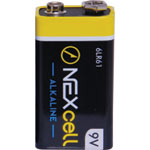 S4870B 9V Nexcell Alkaline Mercury Free Battery 10Pack