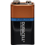 S4931 9V Duracell Ultra Alkaline Battery