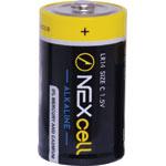 S4960B C Nexcell Mercury Free Alkaline Battery 2pk