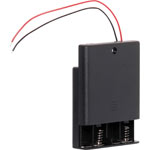 S5043 4 X AA Battery Holder With On/Off Switch