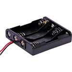 S5053 4 X AAA Flat Battery Holder