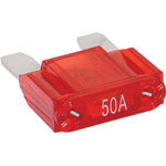 S5345 50A Red Automotive Maxi Blade Fuse