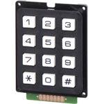 S5381 12 Key Plastic Numeric Keypad