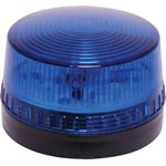 S5445B 12V 1W Flashing Blue LED Strobe