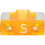 S5482 5A Orange Low Profile Mini Blade Fuse