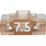 S5483 7.5A Brown Low Profile Mini Blade Fuse