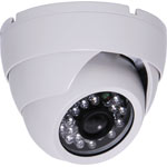 S9115E 720p AHD / 960H Composite Vandal Resistant IR Colour Dome Camera