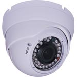 S9123F 1080p AHD / 960H Vandal Resistant Vari-Focal IR  Colour Dome Camera
