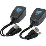S9240A 300m UTP Tranceiver Pair Video And Power Balun