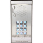 S9486 ECA Multi Apartment GSM Wireless Solar Backlit Intercom MCI3000V4S