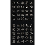 SA1026 4WD Icon Labels To Suit S1026-9