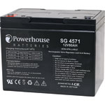SG4571 12V 80Ah Deep Cycle Gel Type (SLA) Battery M6/F8