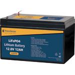 SL4547A 12V 12Ah Lithium LiFePO4 Battery 4.8mm/F1