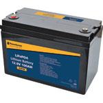SL4576B 12V 100Ah Lithium LiFePO4 Battery M8/F12