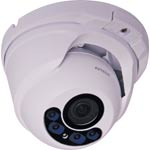 SM9123F 1080P TVI Motorized Zoom Vandal Resistant IR Dome Camera