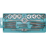 T1422 M3 to M12 Tap and Die Set 20pc