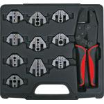 T2178A 10 Jaw Magnetic Ratchet Universal Crimptool Kit