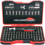 "T2186A 101 Piece 1/4"" Drive Ratchet Screwdriver Kit"