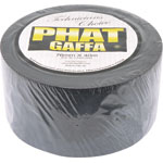 T2962 76mm x 40m Black Phat-Gaffa Tape