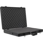 T5019 550x375x90mm Black Aluminium Laptop Case