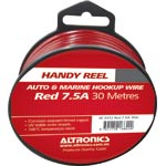 W2412 24/0.20 Red 30m Tinned Hook Up Handyman Cable Reel