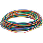 W2430 Solid Core 0.5mm 6 Colour Hobby Wire Pack