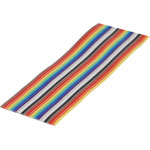 W2516 16 Wire Rainbow Ribbon Cable