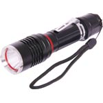 X0212 USB Rechargeable LED Aluminium Hand Torch