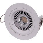 X2000C White MR16 Fixed Downlight Light Fitting